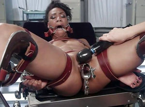 Ebony  Nikki Darling, in the bounded..
