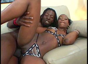 Ebony tart Barbie get more of gigantic..